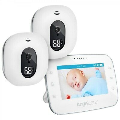 Angelcare AC310-2 Video Baby Monitor with 2 Cameras