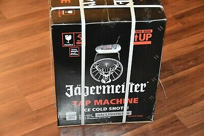 NEW SEALED BOX Jagermeister Tap Machine 3 Bottle Shot Dispenser Chiller Jemus