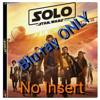 Solo A Star Wars Story (Blu Ray only, 2018) no insert 💿💿🎥 SLIM  CASE🎥💿💿