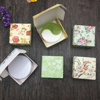 5XHandmade Soap Packaging Kraft Paper Boxes Multicolor candy box soap GiftKA