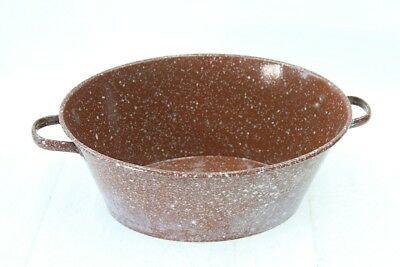 Great Old Emaillewanne Bathtub Rustic Plant Bowl Decor Pot Flowerpot
