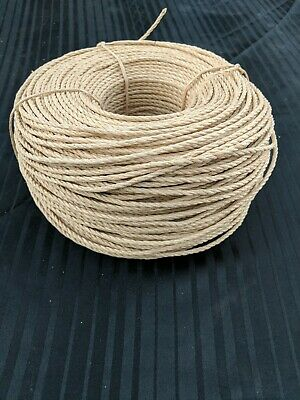 Danish Laced Paper Cord: 3 mm, 2lbs, 575  ft.