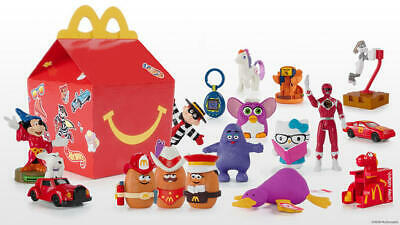 2019 McDonald SURPRISE RETRO 40TH ANNIVERSARY Happy Meal Toys PICK Your Favorite