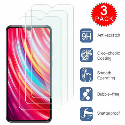 For Xiaomi CC9 Pro Redmi 8 8A Note 8 7 Pro Tempered Glass Screen Protector Film