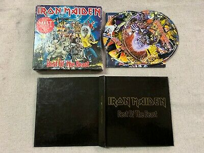 Iron Maiden - Best of the Beast 2CD Box Set Hard Book Limited Edition CDEMDX1097