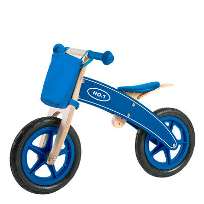 Bicicleta sin pedales madera con cesta Play & Learn