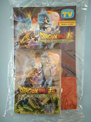Dvd Dragon Ball Super Broly -  Il Film  - Via Corriere Sda