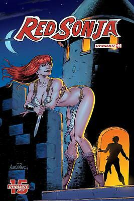 L588 US-COMIC 2019 DYNAMITE RED SONJA LORD OF FOOLS ONE SHOT