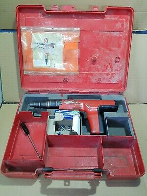 Hilti DX350 Powder Actuated Fastening System Nail Gun + Case