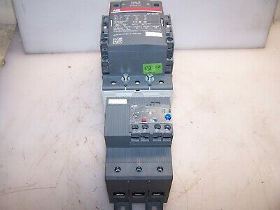 Abb 125 Hp Ac Motor Starter Contactor 120 Vac/Vdc Coil Af140-30 With Ef146