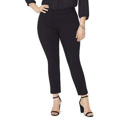 NYDJ Womens Alina  Lift Tuck Technology Ankle Pants Trousers Plus BHFO 6714