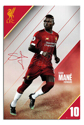 Maxi Size 36 x 24 Inch Liverpool FC Naby Keita 2018-2019 Poster New