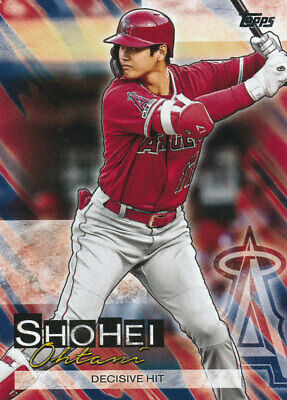 2019 Topps Update Shohei Ohtani Highlights Insert #SO-19 Los Angeles Angels