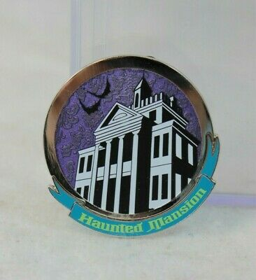 Disney Parks Haunted Mansion Mystery Pin 50th Anniversary Glow Disneyland Facade