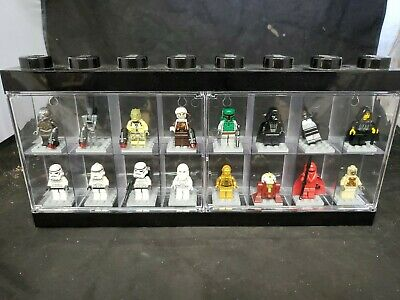 LEGO Star Wars Lot of 16 Minifigures Troopers, Droids Darth Vader R2D2 c3po (mv)