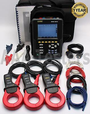AEMC 3945-B PowerPad Three-Phase Power Quality Analyzer Meter True RMS 3945