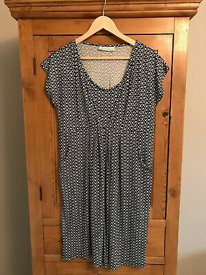 JoJo Maman Bebe Nursing Maternity Tunic Dress size M unworn