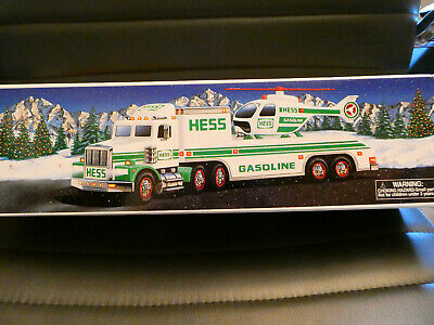 1995 Hess Toy Truck And Helicopter -  ***Mib***
