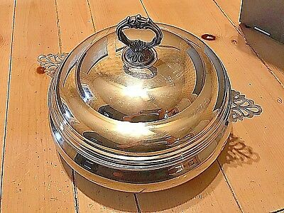 Sheffield Silver Co. Covered Casserole Sheffield Silver Co. 1 1/2 Quart
