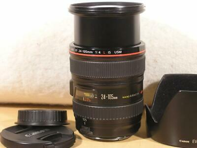 99% Spotless Canon EF 24-105mm F4 L IS USM Macro Lens