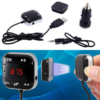 bluetooth Wireless FM Transmitter MP3 Player USB SD LCD Remote Handsfree Car Kit