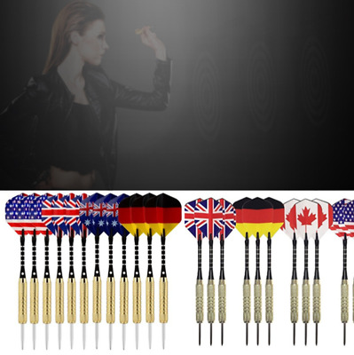 5 Sets of Steel Tip Darts Stainless Barrel with Aluminium Dart Special Vogue