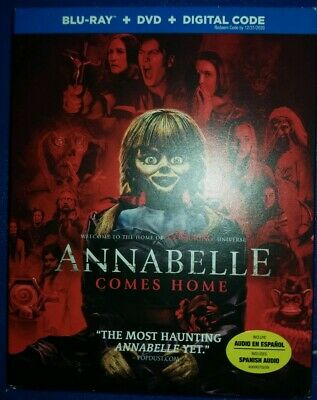 Annabelle Comes Home(2019) BLU-RAY Only BRAND NEW Ships Now