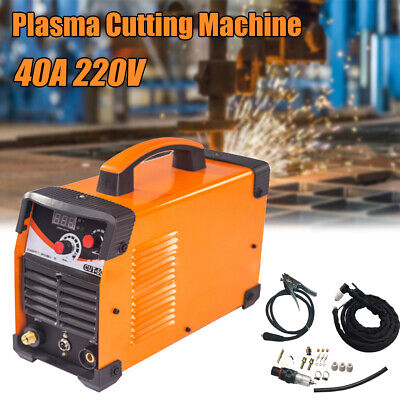 CUT-50D Plasma Cutting Welding Machine HF Inverter Digital 14mm Cutter 110/220V