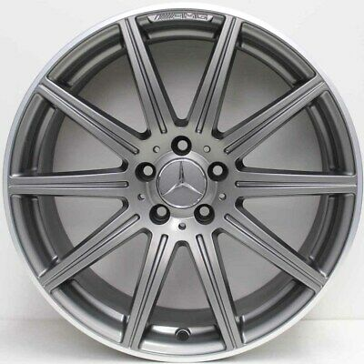 19 inch GENUINE MERCEDES BENZ AMG E63/ CLS63 2015 MODEL WIDE PACK ALLOY WHEELS