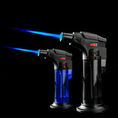 Windproof Lighter Refillable Butane Inflatable Torch Fuel Jet Flame Lighter Gift