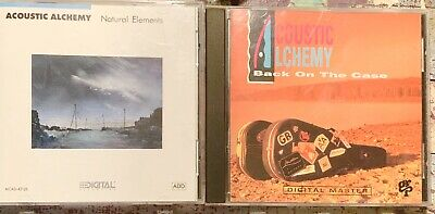 LOT OF 2 ACOUSTIC ALCHEMY CD'S - Natural Elements & Back On The Case