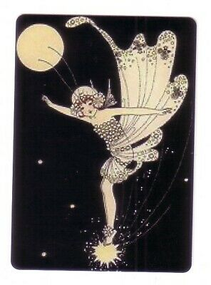 Beautiful  Fairy and the Moon    - Seconds Modern Wide  Swap Playing Card