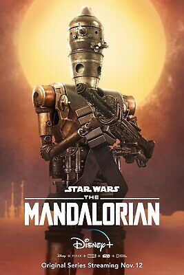 Star Wars The Mandalorian poster (e)  -  11 x 17 inches - Star Wars poster