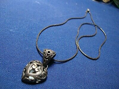 Grandmas Estate 925 Sterling Silver Chunky Necklace