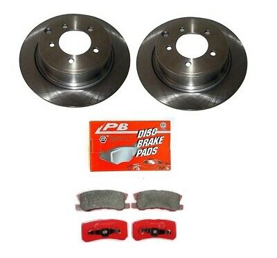 Chrysler Grand Voyager 3.3 MPV 175 Front Brake Pads Discs 301mm Vented