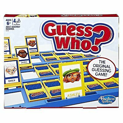 Hasbro Guess Who? Classic Game Kids Family Toy Gift Present Board -Free Shipping