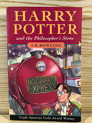 Harry Potter and the Philosopher's Stone Paperback Book 1st Edition 53rd Pt 1997