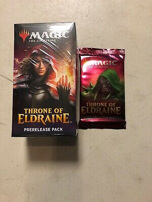 Throne of Eldraine Pre-release Kit + Collector booster Sealed mtg New free Ship