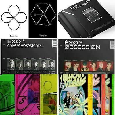 Exo Vol.6 Obsession Album - Exo- X Exo Version (+/- Poster) [Kpoppin Usa]