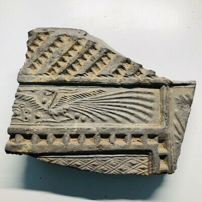 Ancient Chinese Tomb Brick with Phoenix  Han Dynasty