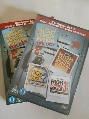 High School Musical 1-3 Dvd Set - New Sealed