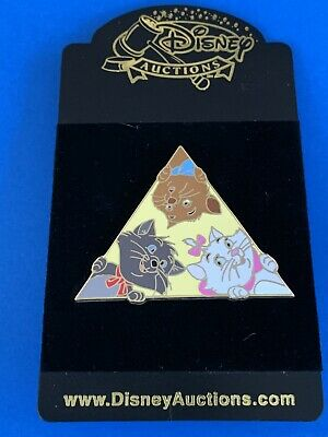 Disney Auctions DA Peek-a-Boo ARISTOCATS PIN Marie, Berlioz, Toulouse  LE 500