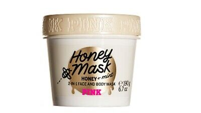 Victoria's Secret Pink Honey Mask With Mint 2 in 1 Face And Body Mask 190g