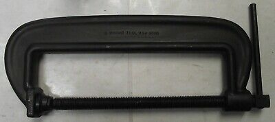 """Wright Tool 90110 10"""" Heavy Service Forged C Clamp USA"""