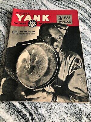 Yank The Army Weekly August 8 1943. Dolores Moran. British Edition.