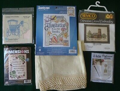 Bulk Lot Cross Stitch & Embroidery Kits