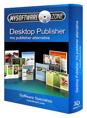 Desktop Publisher Publishing 2017 Software For Microsoft Ms Win Pc Platform
