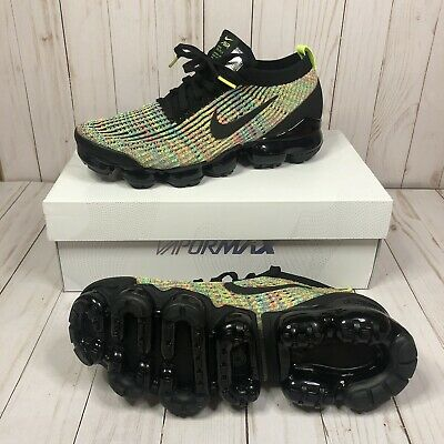 Nike Air Vapormax Flyknit 3 Mens AJ6900-006 Multi Color Running Shoes Size 14