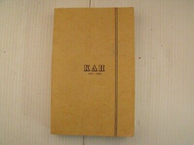 Kappa Delta Pi Sorority 1911-1936 History Of 25th Anniversary Book  REPRINT VGC