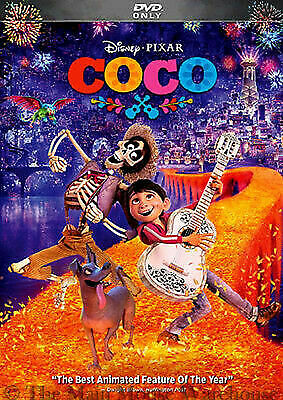 Coco (DVD, 2018) - Ex Library - **DISC ONLY**